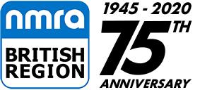 NMRA British Region 75th Logo